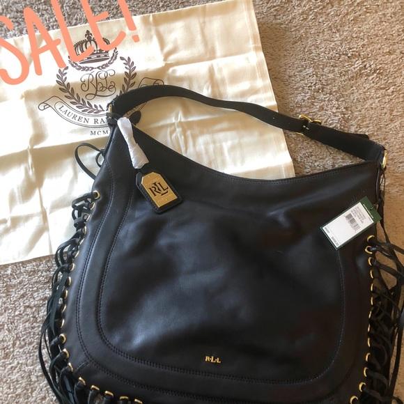 811ec14a2a3b SALE Lauren by Ralph Lauren Fleetwood Hobo Bag